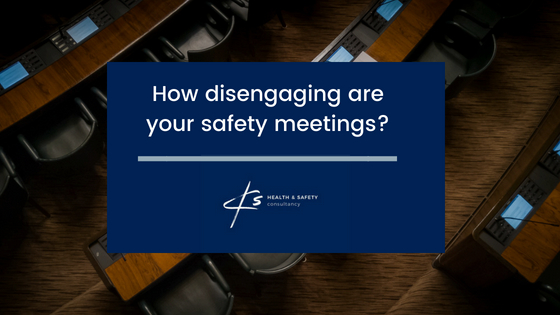 How disengaging are your safety meetings?